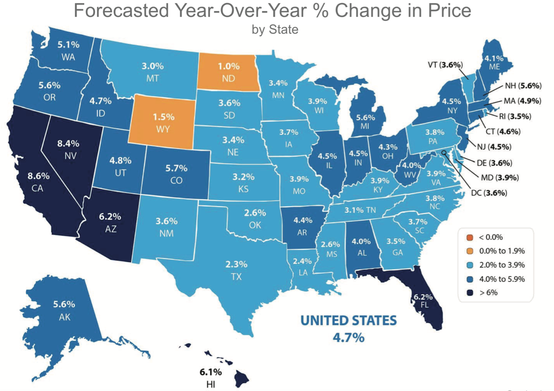 2017 National Housing Price Predictions - Lyudmila Leissler on unemployment rate map, transportation map, las vegas nevada map, value map, health care map, home prices map, average heating for the united states map, subang bestari map, amenities map, poverty map, real estate map,